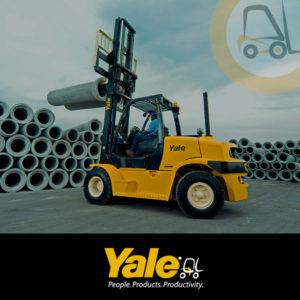 Carretillas elevadoras y transpaletas Yale
